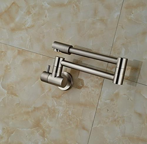 Rozin Mounted Cold Water Kitchen Faucet Swivel Spout