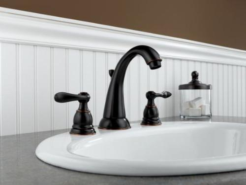 Windemere Two Widespread Bathroom Faucet - Oil Rubbed