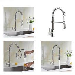 Avola Lead Free Modern Kitchen Sink Faucets,Single Handle Pu