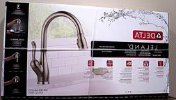 Delta Leland 19978Z-SS-DST Pull-Down Kitchen Faucet Brillian