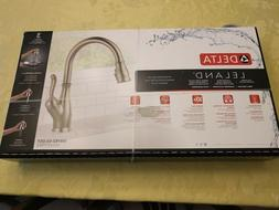 Delta Leland Kitchen Faucet NEW IN BOX 19978Z-SS-DST
