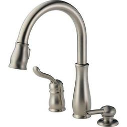 Leland Pull-Down Kitchen Faucet - Finish/Accessory: Stainles