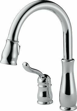 Delta Leland SingleHandle PullOut Kitchen Faucet Chrome