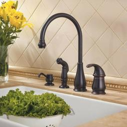 Pfister LG26-4D Treviso Kitchen Faucet - Includes Hand Spray