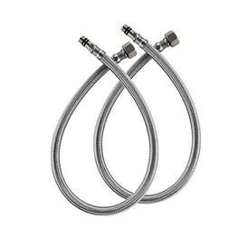 VCCUCINE 18-Inch Long Faucet Connector, Braided Stainless St