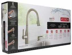 Delta Marca Single-Handle Pull-Down Sprayer Kitchen Faucet