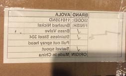 Avola  Model 110135ND Pot Filler Faucet,Wall Mount, Brushed