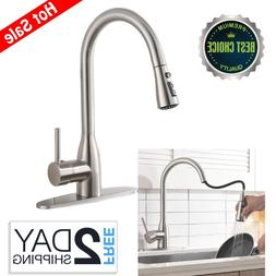 Ufaucet Modern Commercial Lead-free Solid Brass Single Lever