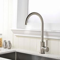 UFaucet Best Modern Single Lever Chrome Prep Kitchen Sink Fa