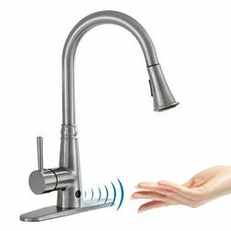 Motion Sense Touchless Kitchen Faucet Pull-Down Single Handl