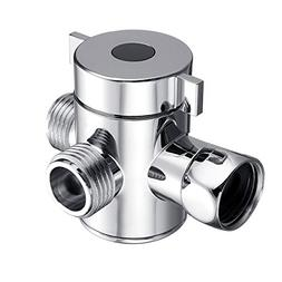 Multi Function 3 Way Shower Head Diverter Valve G1/2 Three F