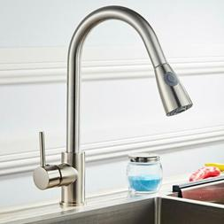 multifunctional mixed material kitchen pull faucet easy