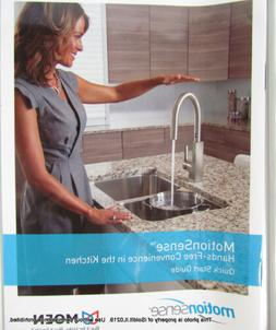 NEW Moen Arbor Motionsense Touchless One-Handle KITCHEN FAUC