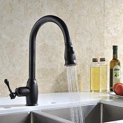 Delle Rosa Pre-Rinse Kitchen Faucet Oil Rubbed Bronze with P