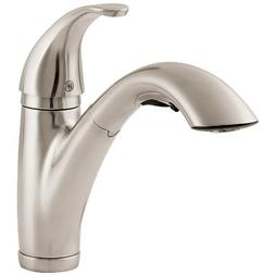Parisa One Handle Centerset Pull-Out Kitchen Faucet, Stainle
