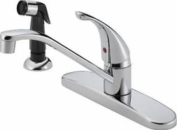 Peerless: P115LF Classic, Single Handle Kitchen Faucet, Chro