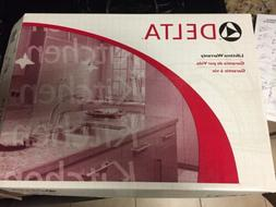 Delta Single Handle Kitchen Faucet 100 nos