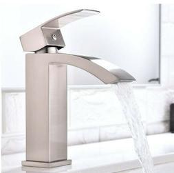 Friho Single Handle Waterfall Bathroom Vanity Sink Faucet BT