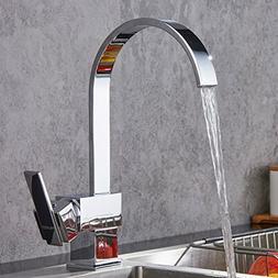 Solid Brass Bar Sink Faucet FAUMIX 360 Swivel Elegant High A