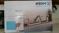 Moen Solidad 87302 Duralock Chrome Kitchen Sink Faucet Fixtu
