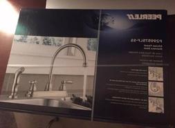 PEERLESS Stainless STEEL Kitchen Faucet w/Sprayer P299575LF-