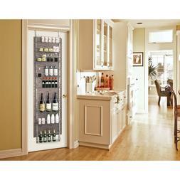 Storage Rack For Pantry Spice Rack Food Shelf Over the Door