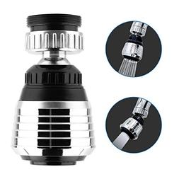 360-Degree Swivel Kitchen Sink faucet Aerator with 2 Functio