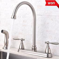Shaco Updated Version Brushed Nickel Double Handle Stainless