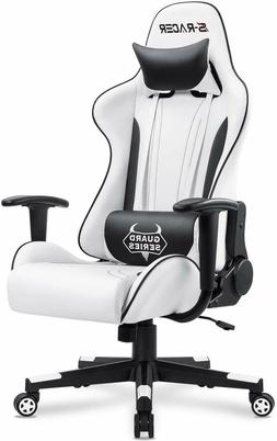 Video Racing Gaming Chair High Back Reclining Leather Office