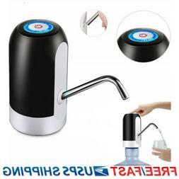 Water Bottle Pump USB Dispenser Automatic 5 Gallon Universal