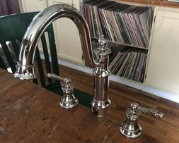 moen Waterhill 2 Handle Kitchen Faucet S712NL