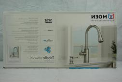 Moen Zabelle 87126SRS Pull-Down Sprayer Kitchen Faucet Stain